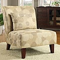 Anna Asian Fan Accent Chair