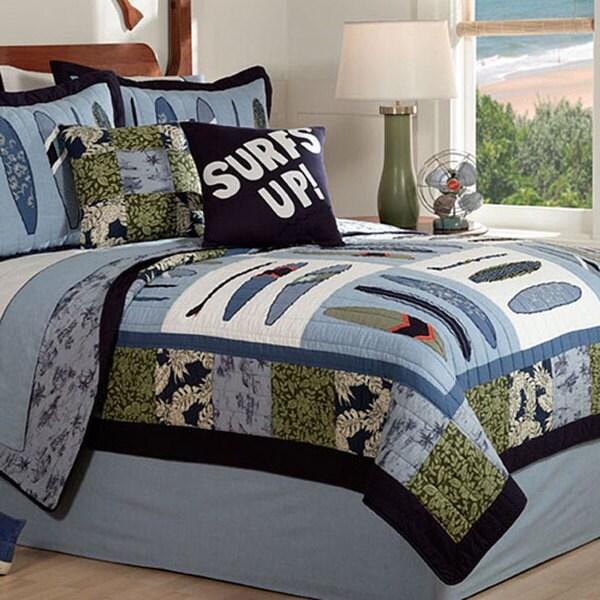'Catch A Wave' 3-piece Quilt Set 5503445