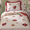 Lady BugTwin 2-piece Quilt Set