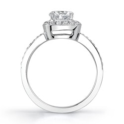 18k White Gold 1 1/3ct TDW Diamond Engagement Ring