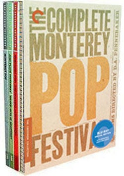 The Complete Monterey Pop Festival Box Set - Criterion Collection (Blu-ray Disc)