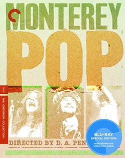 Monterey Pop - Criterion Collection (Blu-ray Disc)