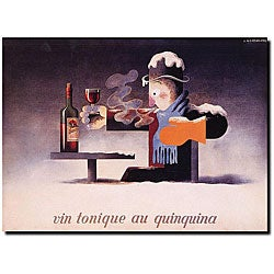Adolphe Cassandre 'Vin Tonique Quinquina' Gallery-wrapped Art