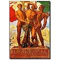 Adolfo Carolis 'Turin 1911' Gallery-wrapped Canvas Art