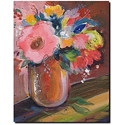 Sheila Golden 'Copper Bowl' Gallery-wrapped Canvas Art