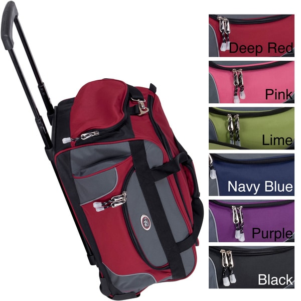 CalPak Champ 21-inch Carry On Rolling Upright Duffel Bag