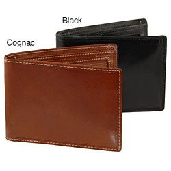 Colombo Flip-up Zipper Coin Wallet