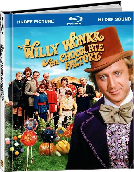 Willy Wonka & The Chocolate Factory Digibook (Blu-ray Disc)