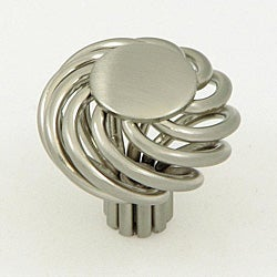 Cornwall Satin-Nickel Finished Birdcage Cabinet Knobs (Pack of Five)