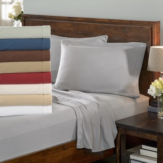 Ultra-soft / Heavyweight 6-ounce German Flannel Hemstitch Sheet Set