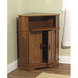 Simple Living Mission Corner Cabinet 12108652 Overstockcom Shopping Great Deals On
