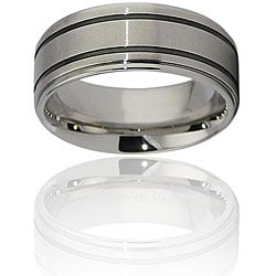 Stainless Steel Beveled-edge Ring