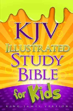 KJV Illustrated Study Bible for Kids: King James Version (Hardcover)