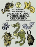 Treasury of Fantastic and Mythological Creatures: 1087 Renderings from Historic Sources (Paperback)