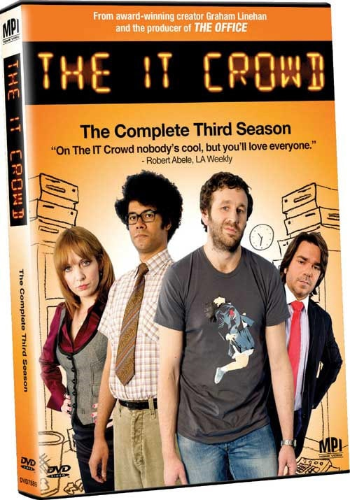 The IT Crowd: The Complete Third Season (DVD)
