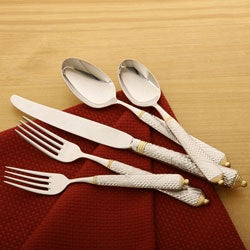 Yamazaki Byzantine Gold Accent 5-piece Flatware Place Setting