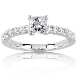 14k Gold 3/4ct TDW Diamond Engagement Ring