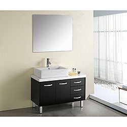 Virtu USA Tilda 40-inch Single Sink Bathroom Vanity Set