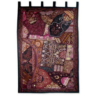 Cotton 'Mughal Luxury' Wall Hanging (India)