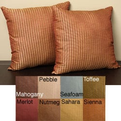 Madrid 18-inch Knife Edge Pillows (Set of 2)