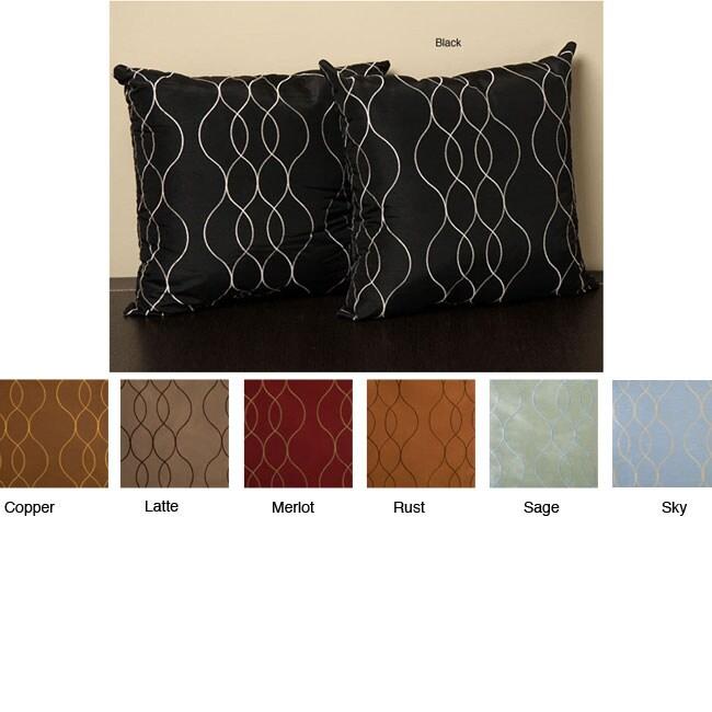 Keeva 18-inch Knife Edge Pillows (Set of 2)