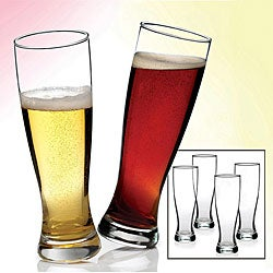 Anchor Hocking 4-piece Grand Pilsner Barware Set
