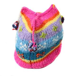 Hand-woven Princess Wool Hat (Ecuador)