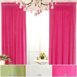 Micro Velvet 84-inch Curtain Panel Pair