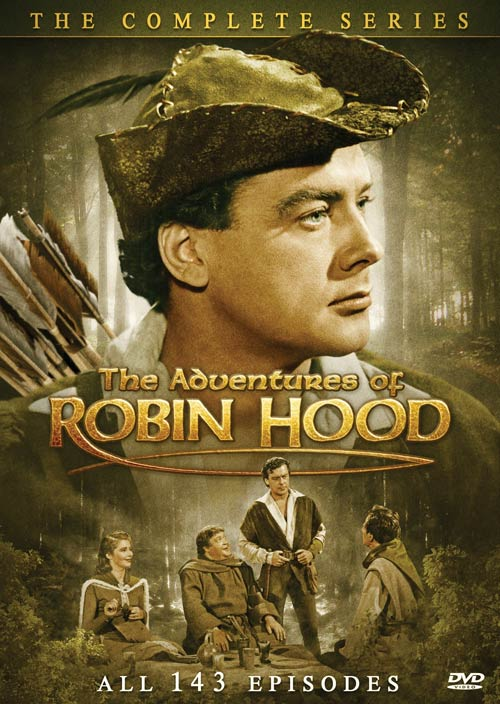The Adventures of Robin Hood: The Complete Series (DVD)