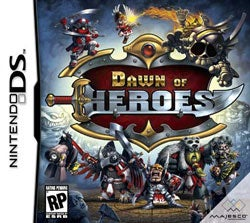 Nintendo DS - Dawn of Heroes- By Majesco