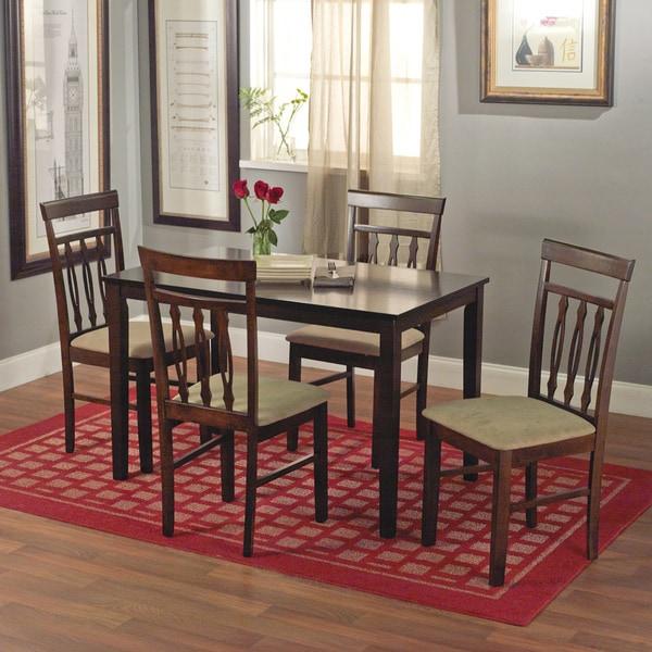 Simple Living Carson 5-piece Dining Set