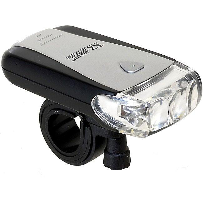 M-Wave 3-LED Bicycle Flashlight