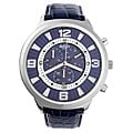 Akribos XXIV 3D Men's Quartz Chronograph Blue Watch