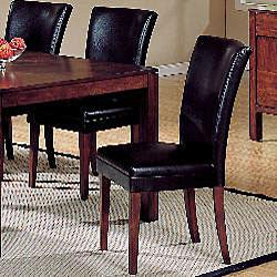 Portman Faux Leather Parson Side Chairs