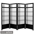 Spruce Wood 48-inch Kumo 4-panel Room Divider (China)
