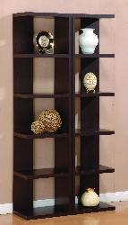 Furniture of America Danbury Open-leveled Display Cabinet