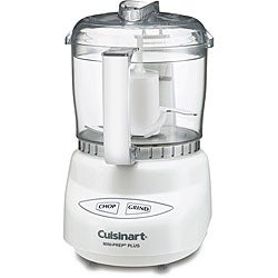 Cuisinart DLC-2A White 3-cup Mini Prep Plus Food Processor (Refurbished)