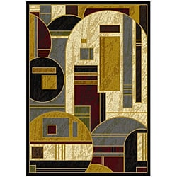 Dimensions Abstract Rug (7'8 x 10'4)