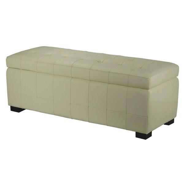 Safavieh Manhattan Large Off-white Storage Bench