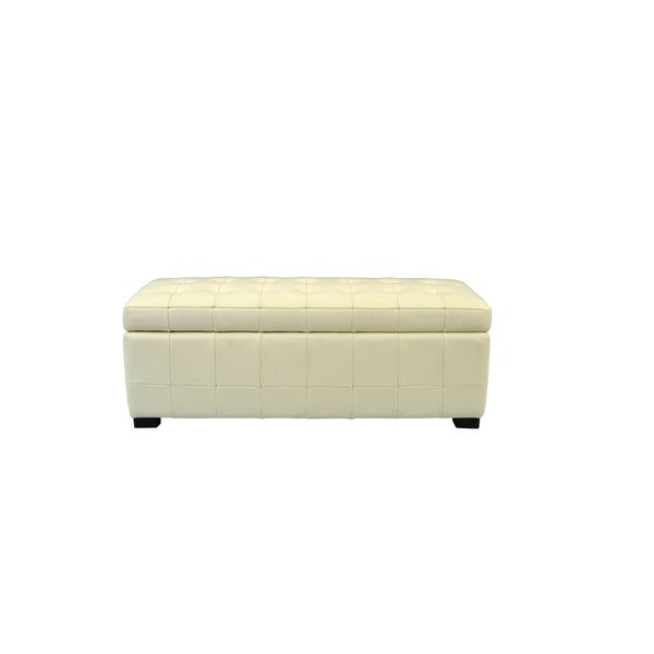 Safavieh Manhattan Off-white Small Storage Bench