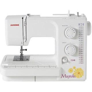 Janome 7318 Magnolia New Sewing Machine