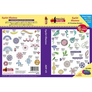 Amazing Designs Eyelet Illusions Design Collection