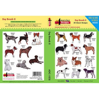 Amazing Designs Dog Breeds II Design Collection