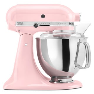 KitchenAid KSM150PSPK Pink 5-quart Artisan Tilt-Head Stand Mixer **with Cash Rebate**