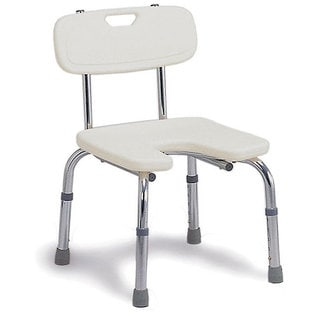 Mabis Hygienic Bath Seat with Backrest