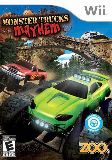 Wii - Monster Trucks Mayhem