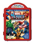 Marvel Heroes Super Origins Book & Magnetic Playset (Board book)