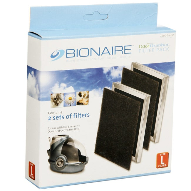Bionaire Odor Grabber Litter Box Filters (Pack of 2)