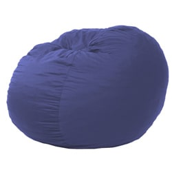 FufSack Large 5-foot Lounge Sky Blue Microsuede Chair