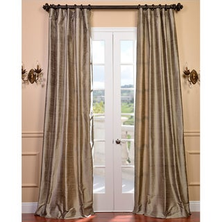 Signature Cashmere Textured Silk 84-inch Curtain Panel